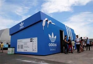 Pop Up Retail Adidas