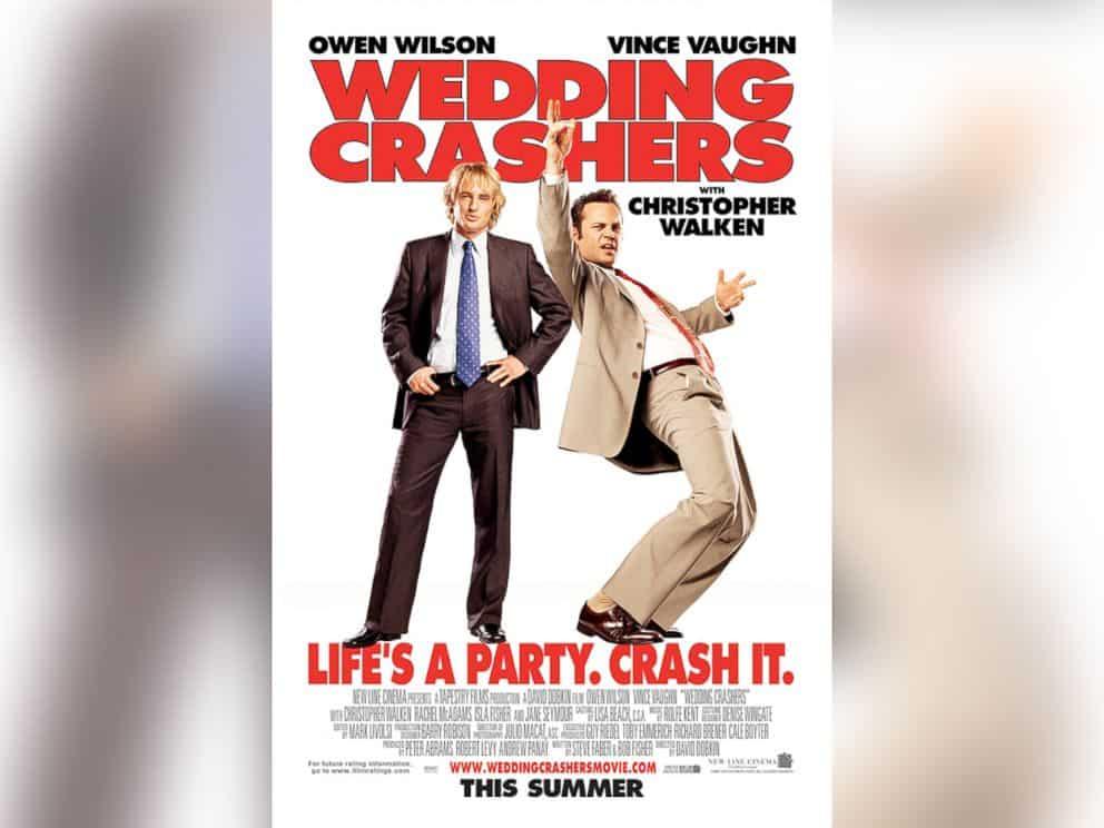 wedding crashers marketing